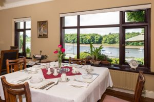 Breakfast over The River Moy