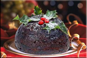 Christmas Pudding at Brigown B&B
