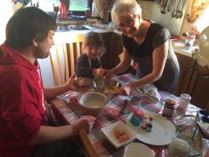 Cookery Class with Marjorie at Brigown B and B Mayo